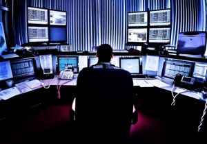 Man-in-control-room